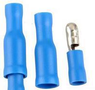 Connecteur de balle mâle et femelle bleu, bornes à sertir, câblage, 50 pièces, livraison gratuite