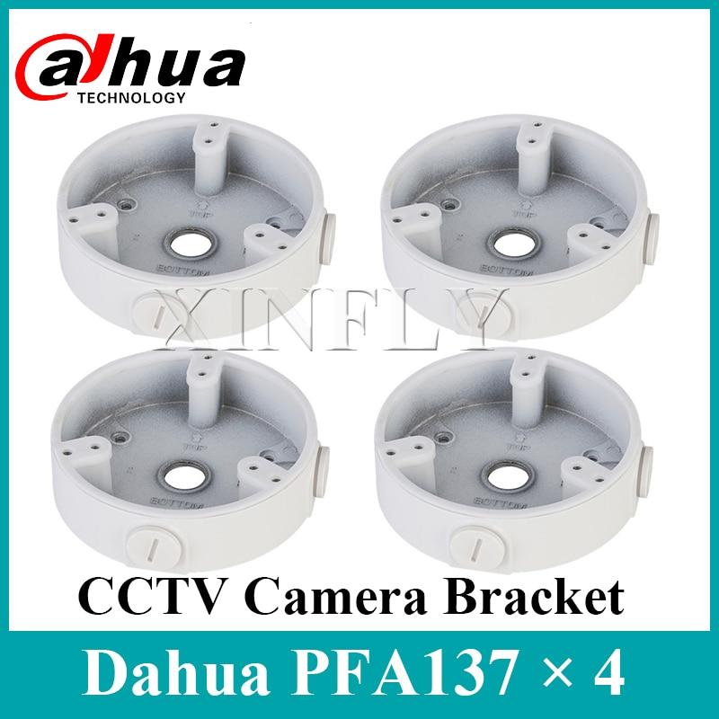4 peças/lote PFA137 Caixa de Junção À Prova D Água para Dahua Dahua IPC-HDW5831R-ZE IPC-HDBW4433R-ZS SD22404T-GN IPC-HDW5231R-ZE