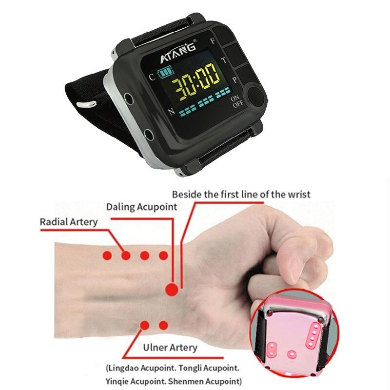 Diabéticos, producto para el cuidado de la salud, previene la presión arterial cardiovascular, azúcar, rinitis, terapia, reloj láser