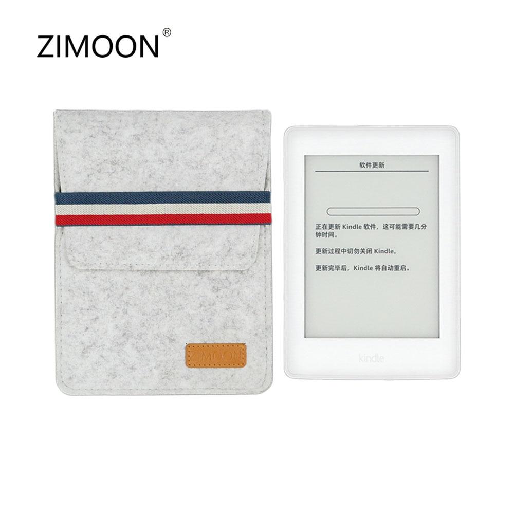 Tablet Sleeve Bag for Kindle Paperwhite 2 3 4 Felt Shockproof Case For 6' E-reader Kindle 7/8 th Voyage Portable Cover