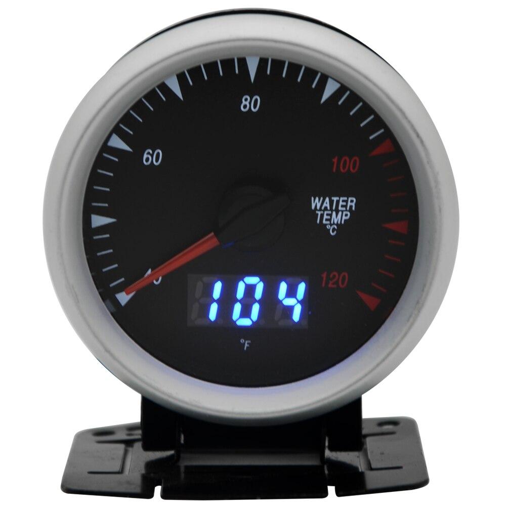 2 5 дюймов 60 мм Датчик температуры воды двойные единицы цифровой аналоговый