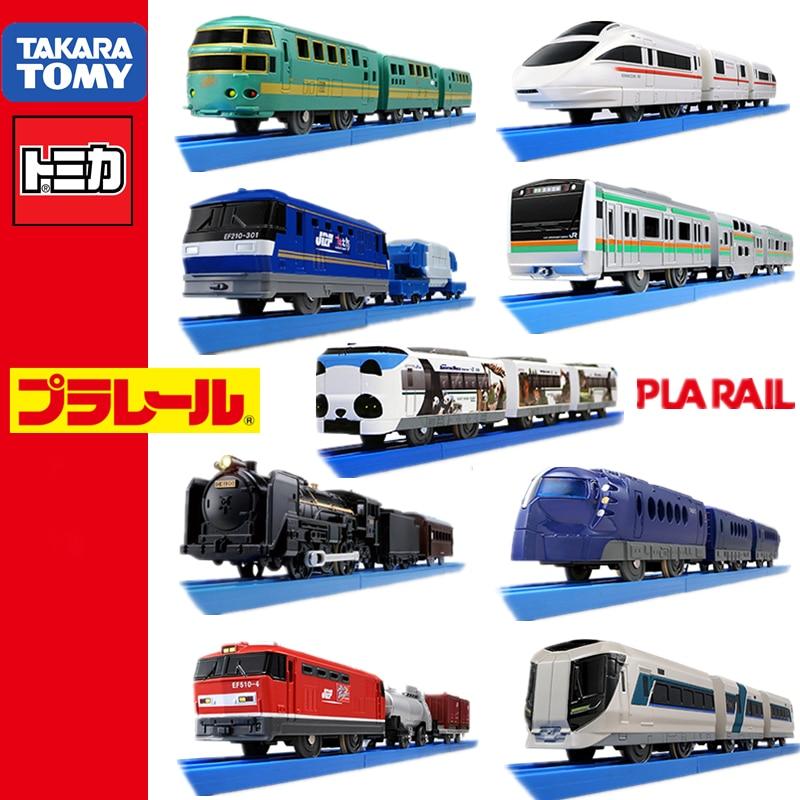 Takara Tomy tomica Plarail Trackmaster tren modelo kit Disney Dream Railway bebé juguetes hot pop niños muñecas miniatura coche de juguete