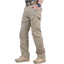 IX9 City pantalon de Combat tactique hommes SWAT armée militaire pantalon décontracté hommes pantalon nombreuses poches Stretch coton pantalon