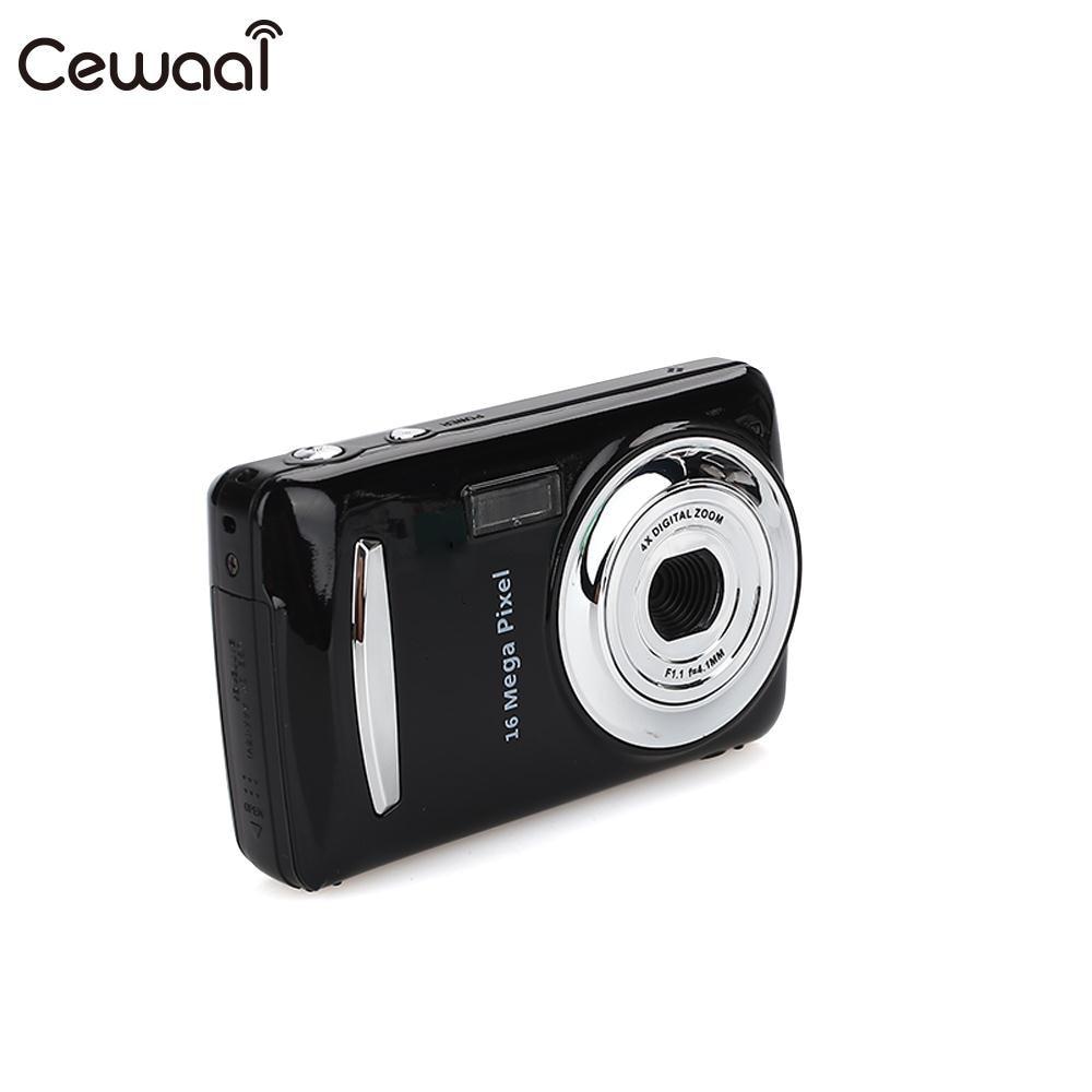 Cewaal Black Ultra Photo 1.6MP 1080P HD Цифровая камера DVR 16MP 1080P HD камера точный видеорегистратор 16MP 1080P камера DV