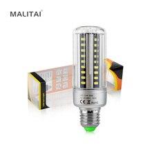 1X Lumen élevé 100LM/W E27 E14 5W 7W 9W 12W 18W 20W 85-265V lumière de maïs LED aluminium refroidissement longue durée de vie 5736 SMD lampe LED ampoule