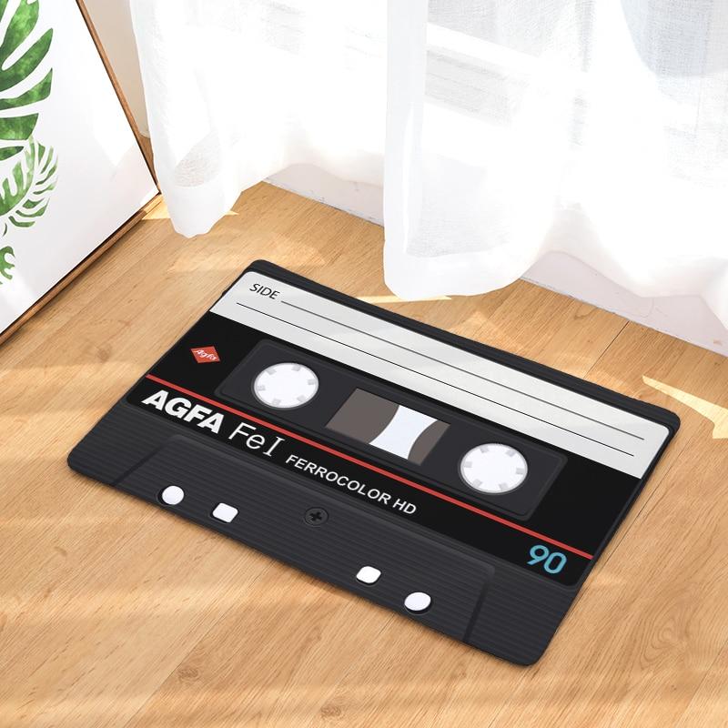 Новое прибытие радио коврики Мода 3D Tper коврики 40*60 см Входные Коврики моющиеся кухня пол ванная комната
