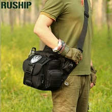 Sacoche grande tactique unisexe imperméable Camouflage militaire Trekking voyage sacs sacs à bandoulière multifonctionnel caméra selle sac