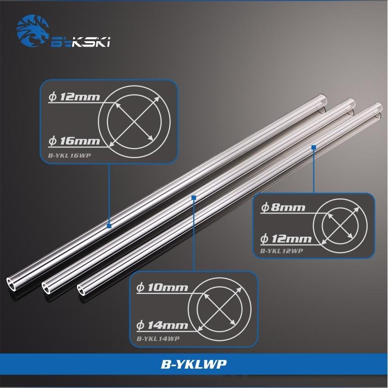 AliExpress - BYKSKI PMMA / PETG Hard Tube ( OD12mm / OD14mm / OD16mm  ) + 2mm Thickness + 50cm Length Transparent Rigid Pipe 2pcs/Lots