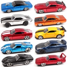 1:32 echelle Jada Plymouth Chevy Belair Camaro Dodge Charger ford mustang Pontiac Nissan GTR Diecasts et véhicules miniatures voiture modèle jouet