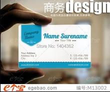 Customized waterproof pvc business card printing Plastic transparent membership name cards