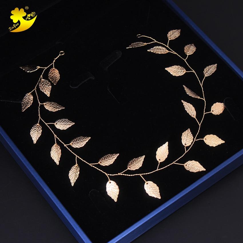Adorno capilar nupcial Xinyun accesorios para el cabello de boda tocado de cristal para novia con perla diadema de joyas tocado Tiara de boda