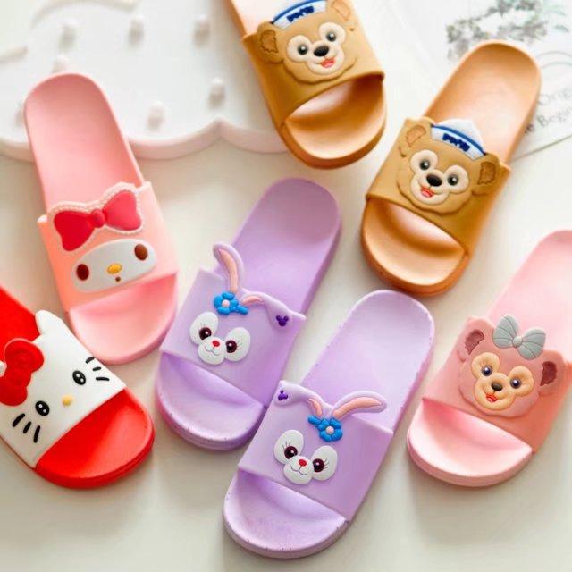 Duffy oso conejo stellalou Shelliemay Hola Kitty Melody sandalias flip flops para mujeres niñas regalo