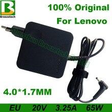 LUE 20V 3.25A 65W 4.0*1.7mm AC Adaptateur Pour Ordinateur Portable Pour Lenovo B50-10 IdeaPad 120s-14 100-14 100-15 Yoga 510-14 710-13 Air 12 13 15
