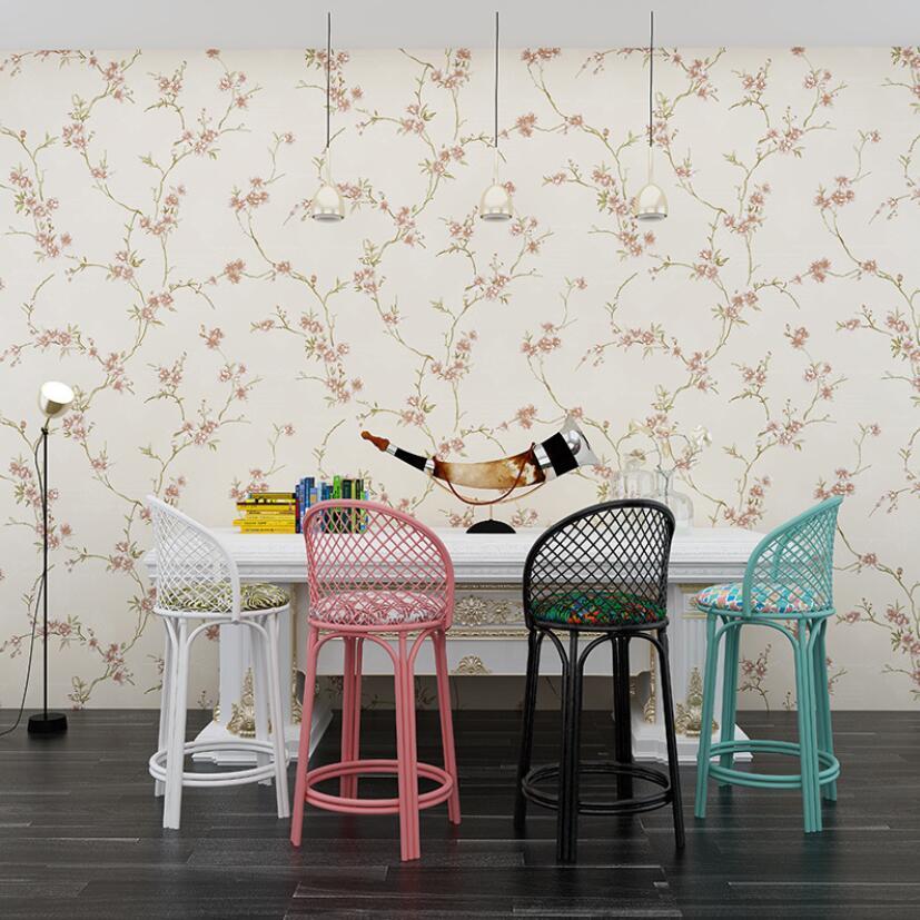 Papel tapiz Vintage clásico de flor de ciruelo, Mural Rural 3d, rollo...
