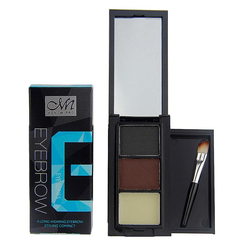 Pro 3 Colour Eyebrow Powder kit Long Lasting Make Up Eyebrow Powder Shadow J2 B6