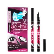 Eyeliner liquide noir 36H, crayon pour les yeux résistant à leau et durable, 1 pièce