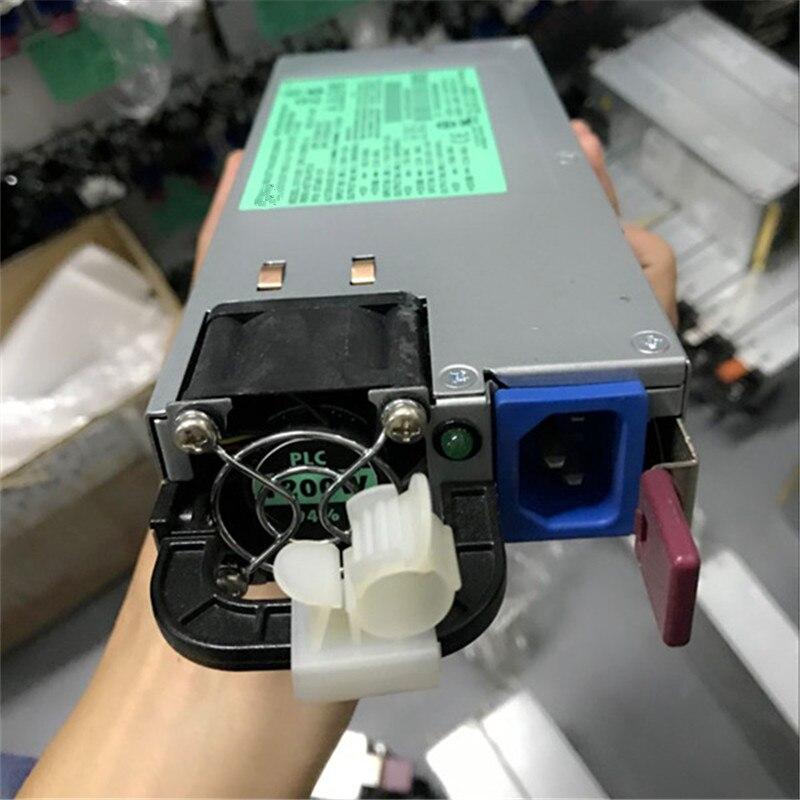 1200W خادم التيار الكهربائي ل DL385G7 DL580G7 DL585G7 DL980G7 DPS-1200FB-1 A HSTNS-PD19 579229-001 570451-101 التعدين ethereum