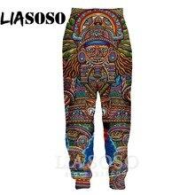 Impression 3d hommes femmes pleine longueur hip hop Harajuku psychédélique pantalons de survêtement haut décontracté tatouage hiver pantalon anime survêtement pantalon E713