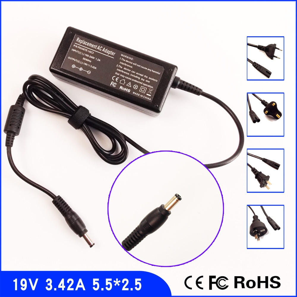 19 V 3.42A Laptop Ac Adapter Power Charger + Kabel für ASUS Z91 Z92 Z93 Z96 SADP 65KB B ADP-65JH BB PA-1650-02 SADP 65NB BB