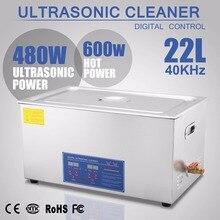 JPS-80A Professionelle Edelstahl 22 L Liter 1080W Digital Ultraschall Reiniger Heizung Timer