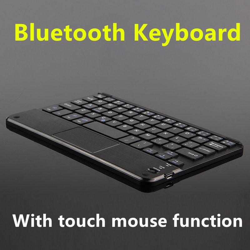 Teclado Bluetooth para Lenovo TAB S8 Yoga TAB 3 8 Tablet PC Yoga TAB que 2 8 2 8 2 8 2 8 7 teclado inalámbrico Android Windows Touch Pad caso