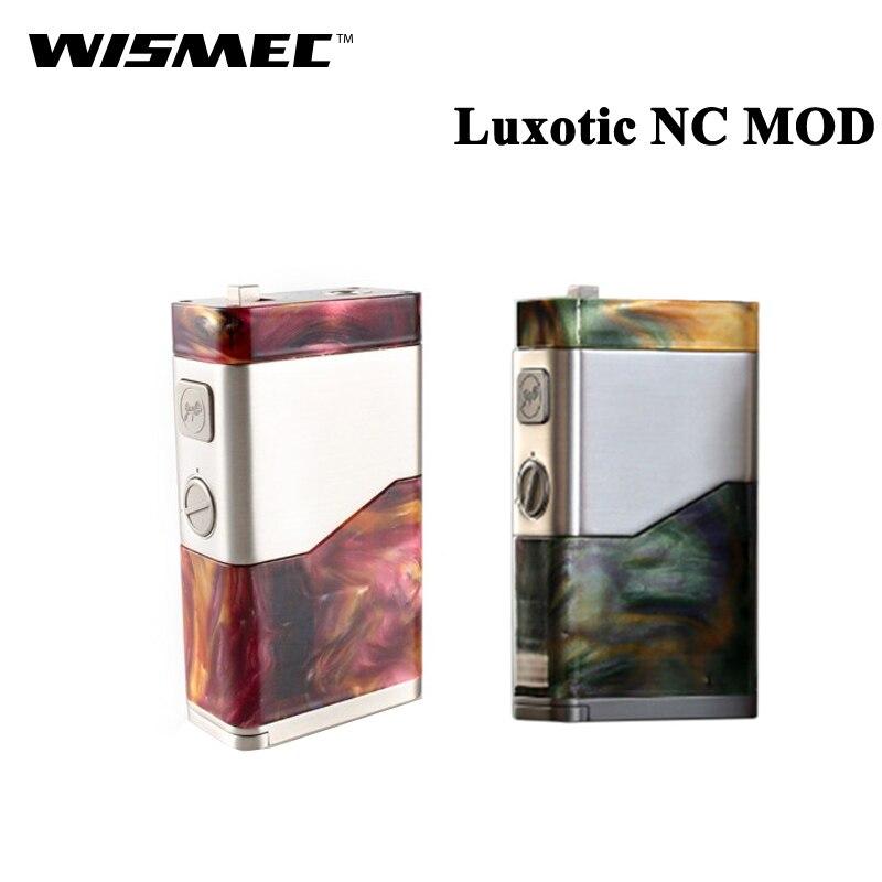Оригинальный Wismec LUXOTIC NC 250 Вт BF поле MOD электронная сигарета Vape Fit Двойной 18650 20700