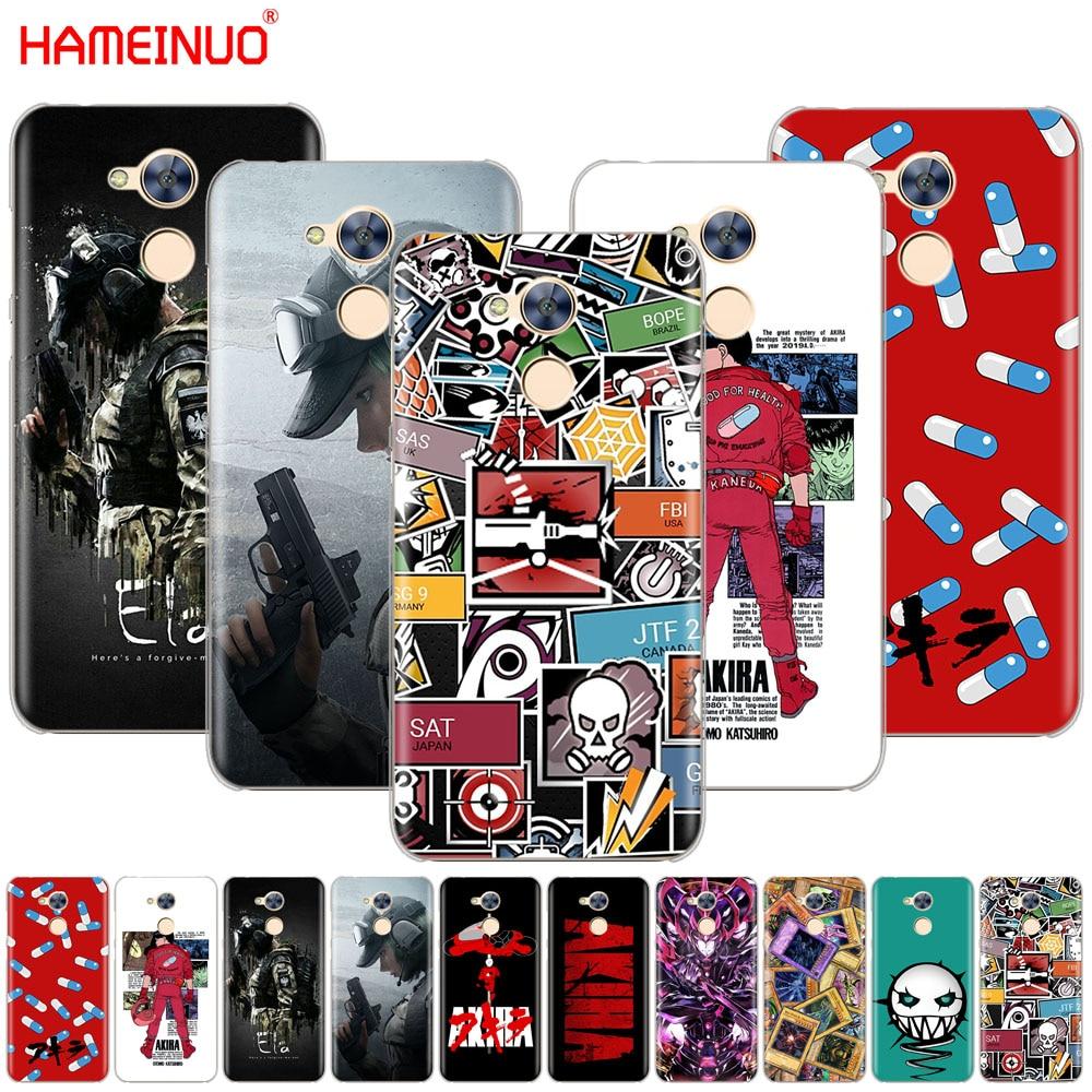 HAMEINUO AKIRA Voltron Arco Iris seis sitio YuGiOh cubierta del teléfono para Huawei Honor 10 V10 4A 5A 6A 7A 6C 6X 7X 8 9 LITE
