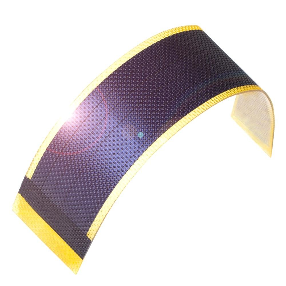 5 uds Panel Solar de película fina celular pequeña batería flexible Fotowoltaiczne...
