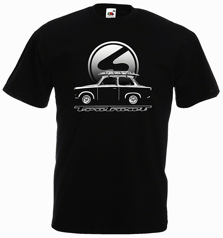 Trabant Car Ifa Ddr Ostkult Car Logo Camping T-Shirt 2019 New Summer Fashion Men Free Shipping 80S T Shirts