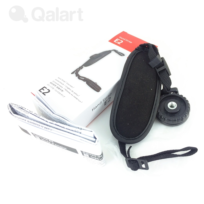 E2 PU Faux Leder Kamera Hand Strap Grip Handgelenk für Canon DSLR SLR Kamera mit/out Batterie Grip