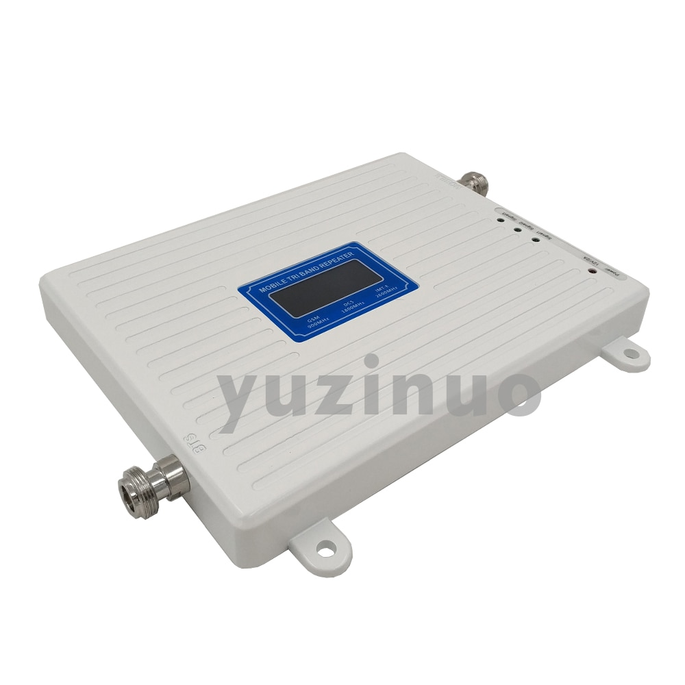 2G 3G 4G Tri Band Signal Booster GSM 900+DCS LTE 1800+FDD LTE 2600 Cell Phone Signal Booster 900 1800 2600 LTE Network Amplifier enlarge