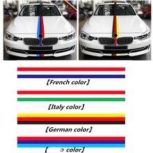 Pour MINI Cooper S Clubman Roadster Countryman Paceman voiture style M allemagne France italie carrosserie complète drapeau autocollants et décalcomanies