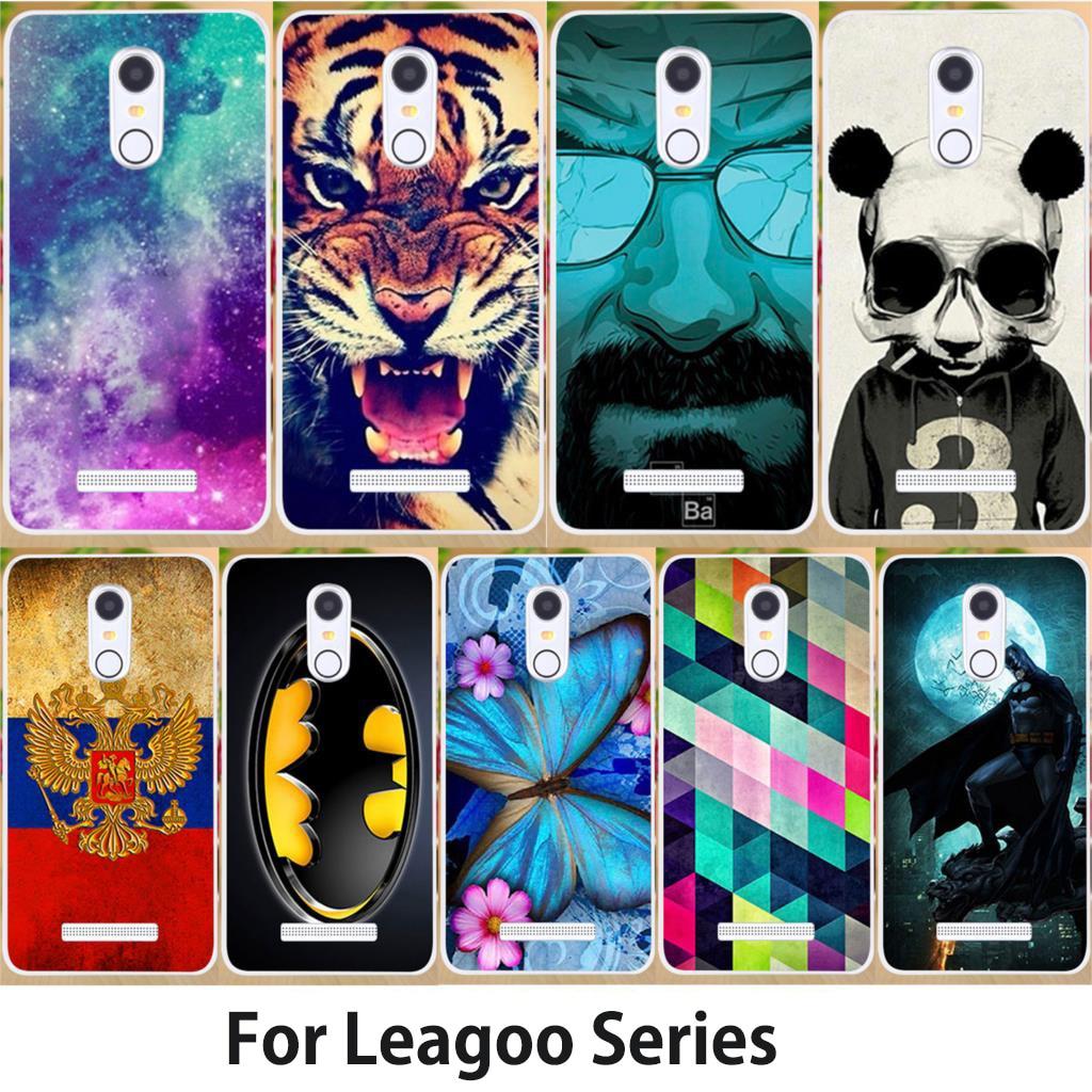 Чехол Anunob для Leagoo M8 Pro M9 S8 Pro T5 M5 Plus M7 T1 T5 Shark1 Kiicaa Mix Kiicaa Power Bag Tiger Flower Butterfly