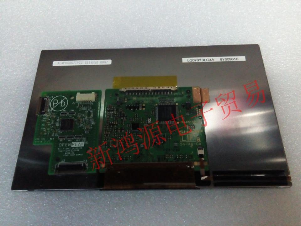 Original novo 7 polegada display LQ070Y3LG4A car GPS de acesso à Internet de controle industrial