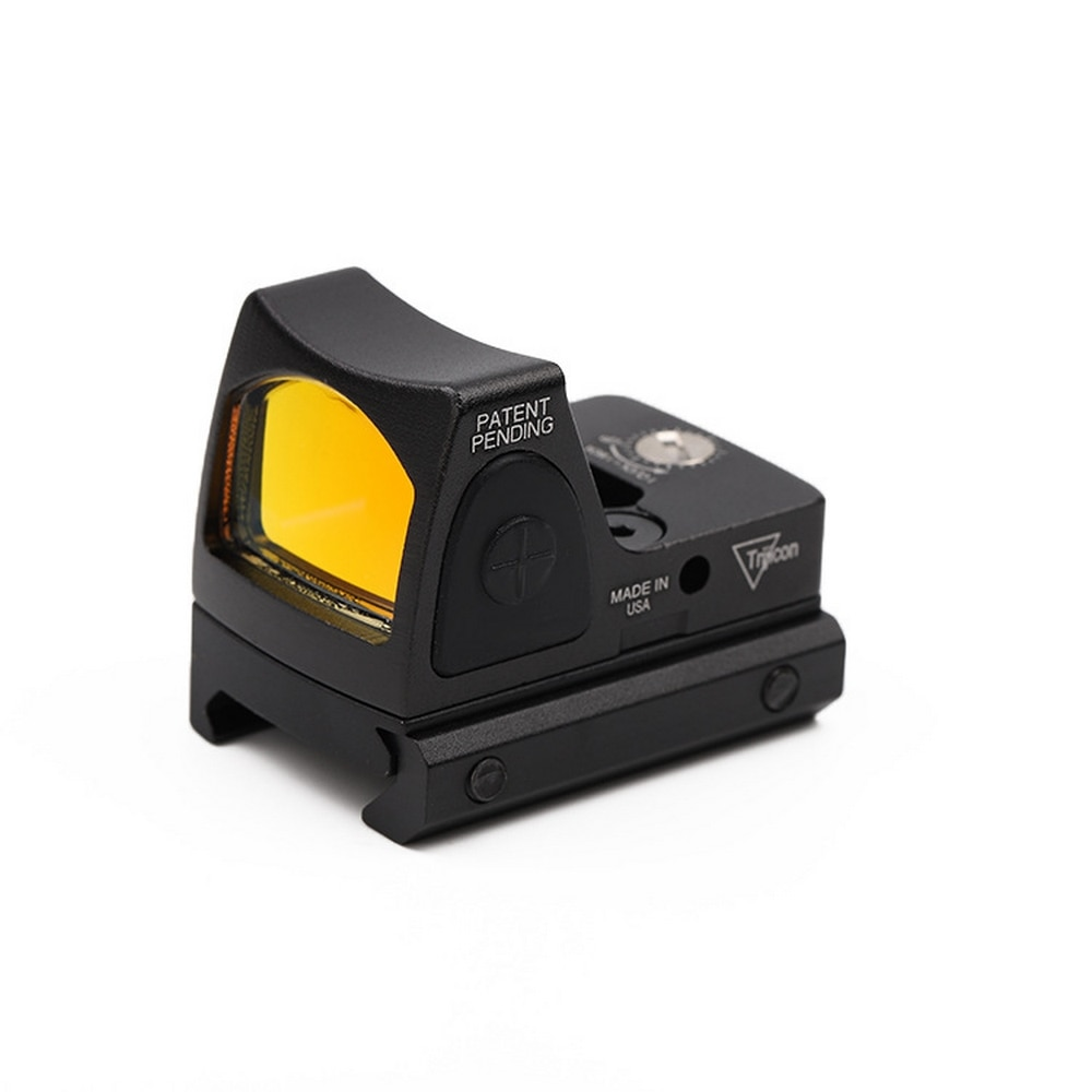 RMR Red Dot Mira Reflex 3.25 MOA Vista brilho Ajustável Pistola Glock Escopo