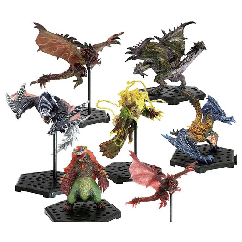 Monster Hunter World Game Tigrex  Dragon Model Collectible Action Figure Monster Hunter XX Toy Gift monster hunter generations ultimate 3ds monster hunter world game monsters figures action