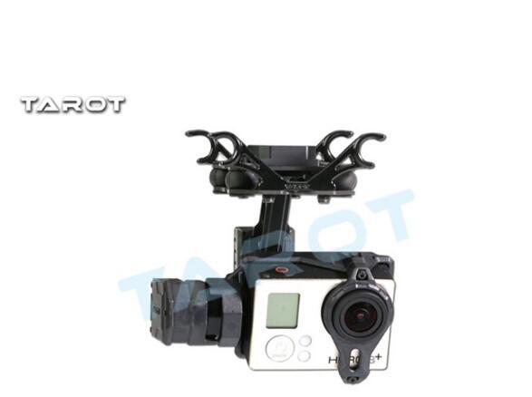 Original Tarot TL2D01 T2-2D sans balai cardan pour Gopro HERO3 HERO4 Sport caméra aérienne photographie FPV