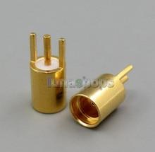 Female MMCX Port Socket Earphone Pins Plug wihtou slot For DIY Custom Shure JH Audio westone 1964 ears UE etc. LN005347