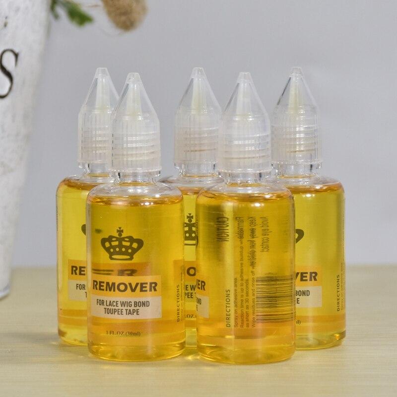Gran oferta de removedor de extensión de cabello de 30 ml para peluca de encaje, cinta adhesiva de tupé de enlace, removedor de cabello adhesivo 1 FL.OZ (30 ML)