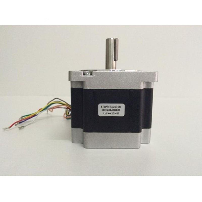 Motor paso a paso Nema34 de 3 piezas 86HS78-4208 4.2A 4.6N.m Nema 34 motor paso a paso 653 Oz-in para máquina de grabado CNC 3D impresora