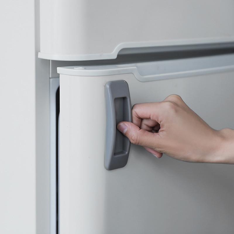 2pcs Drawer Knobs Self-adhesive Plastic Sliding Door Pull Window Handle Cupboard Cabinet Kitchen JJJRY678