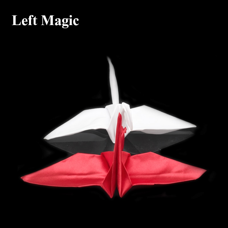 Crane Magic (Origami Magic) Magic Trick Paper Crane Close Up Magic Props Street Accessories Mentalism C2087 недорого
