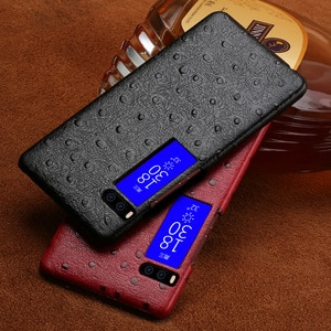 Luxury brand phone case ostrich grain half-wrapped phone case ForMeizu Pro 7 phone case full handmade custom processing