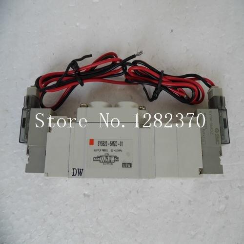 [SA] New Japan genuine original SMC solenoid valve SY5520-5MZD-01 spot --2PCS/LOT недорого