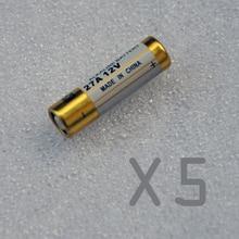 5 Teile/paket 27A 12 V trockenalkalibatterie 27MN A27 27AE für türklingel, auto alarm, walkman, auto fernbedienung etc kostenloser versand