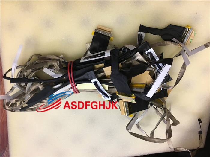 PARA ASUS X501A X501U F501U LCD Cabo 14005-00430100 DD0XJ5LC011 DD0XJ5LC000 100% TESED OK
