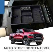 Armlehne Storage Box für Dodge RAM 1500 (2009-2018) und RAM 2500/3500 (2010-2019) unten Mitte Konsole Einfügen Organizer Fach