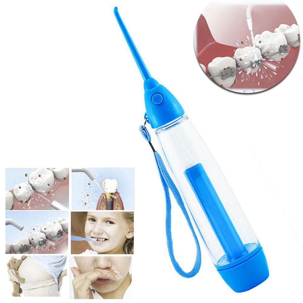 Clareamento portátil de higiene dental flosser água dental limpeza dente boca dentadura líquido de limpeza novo