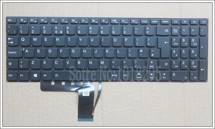 NEUE Tastatur FÜR LENOVO V310 510 310 310S-15IKB 510S-15ISK UK laptop tastatur Hintergrundbeleuchtung SN20K82489 PM5LB-UK