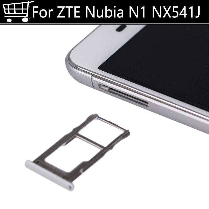 Fast Ship Sim Card Slot Tray Card Holder For ZTE Nubia N1 N 1 NX541J SIM card or Slot Deck or SD Card Mobile Phone